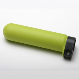 Scull and Sweep Grip, Green Rubber, Adjustable