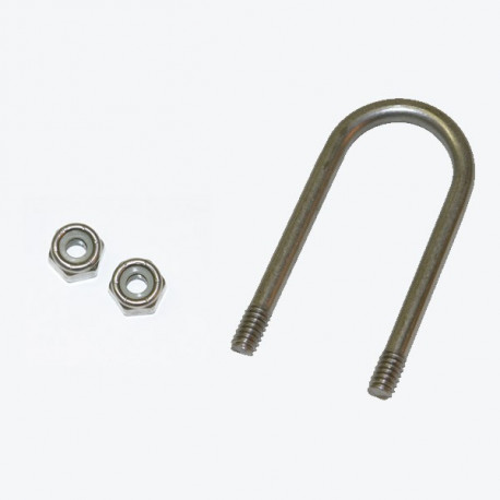 Handle U-bolt with Nuts—Model A, B, C