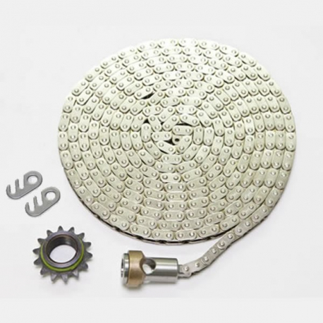 Nickel Chain with Sprocket Kit