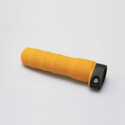 Scull and Skinny Sweep Grip, Contoured Orange Rubber