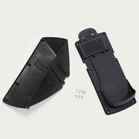Footstretcher Belly and Cover Kit, Left